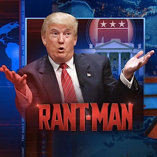 "Watch Jon Stewart Wreck Donald ""Rant-Man"" Trump"
