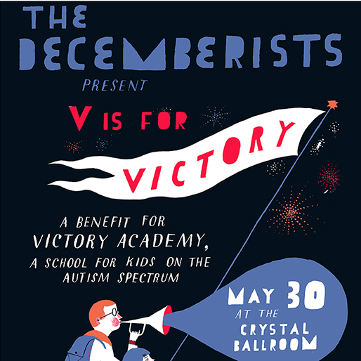 The Decemberists Return to Stage for Autism Benefit Concert