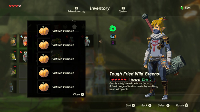 The 10 best recipes in zelda breath of the wild games lists defenseg forumfinder Images