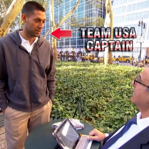 Clint Dempsey Asks Strangers About Clint Dempsey