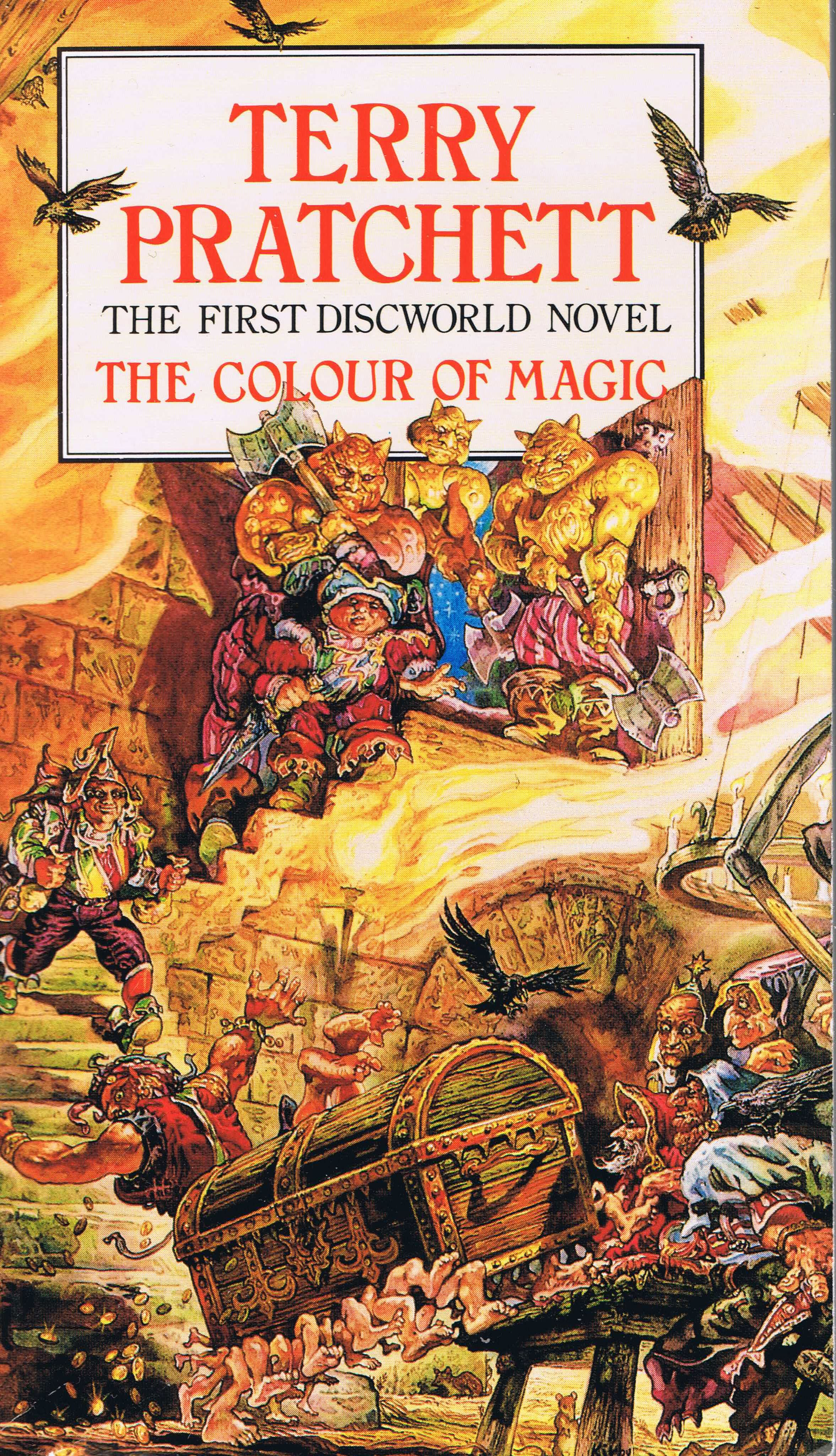 Fantastic fun book to color - Discworld Jpg