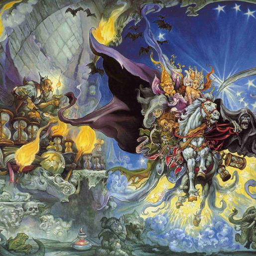Terry Pratchett's 10 Best <i>Discworld</i> Novels