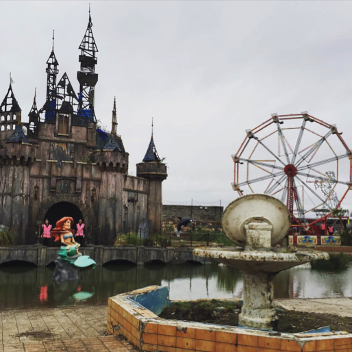 Welcome to Dismaland: Banksy Creates Desolate, Deranged 'Bemusement Park'