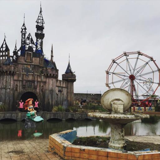 Welcome to Dismaland: Banksy Creates Desolate, Deranged 'Bemusement Park'