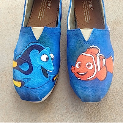 Toms & Disney: 23 Mouse House Inspired Designs ... on Shoes