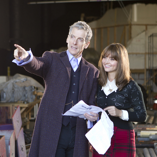 Peter Capaldi Suits Up for <i>Doctor Who</i>