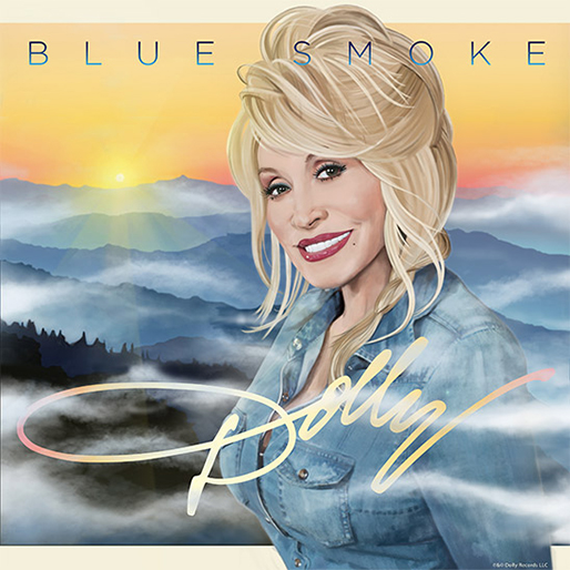"Listen to Dolly Parton's Single ""Blue Smoke"""