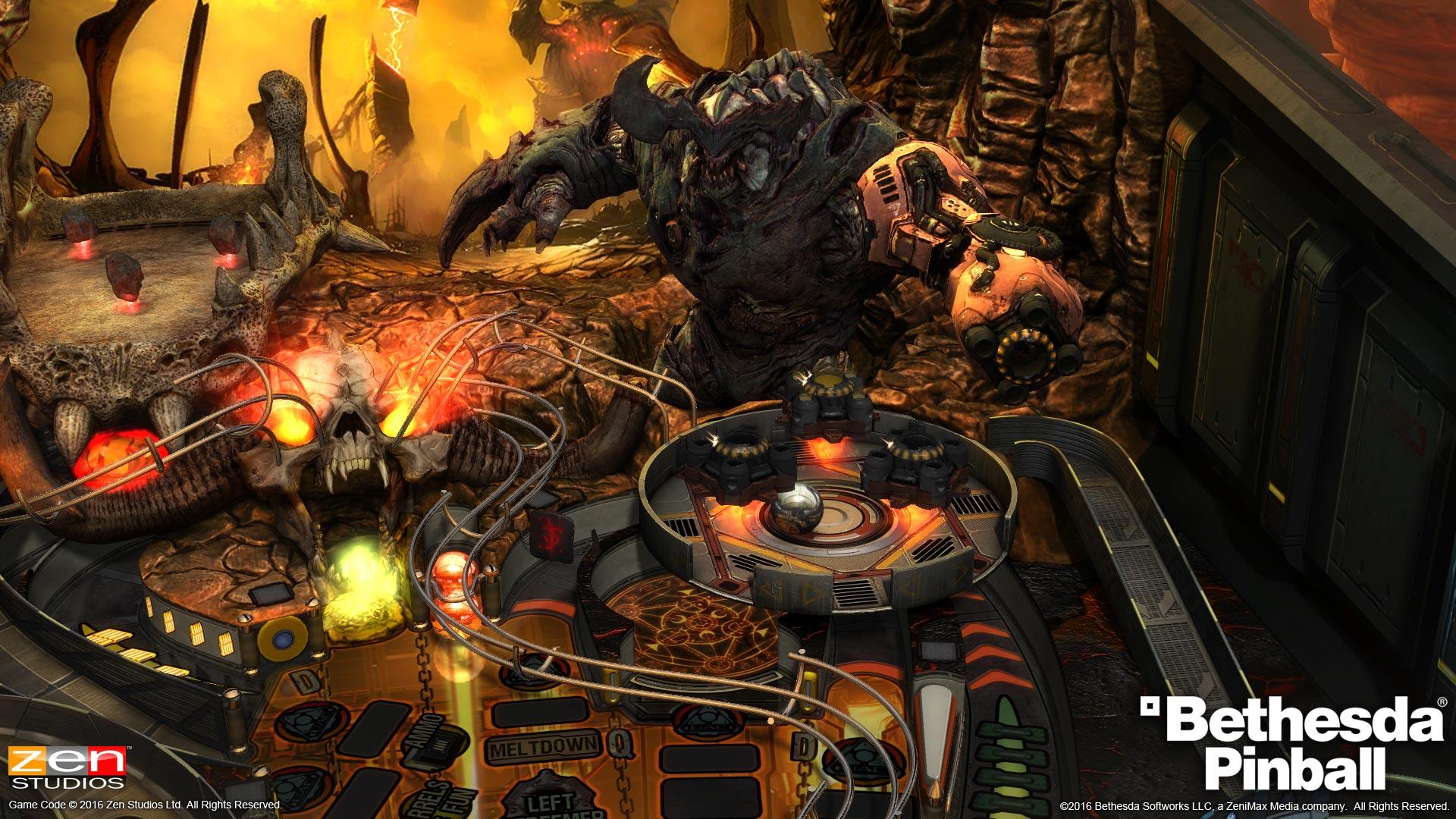 Doom, Fallout, Skyrim Are Coming to Zen Pinball :: Games :: News