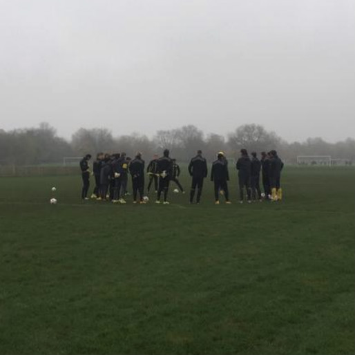 Borussia Dortmund Prepares for Arsenal Match in Public Park