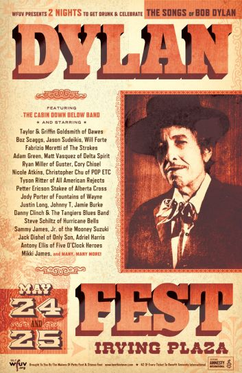 Dylan Fest Lineup Includes Members of The Strokes, Dawes, Delta Spirit