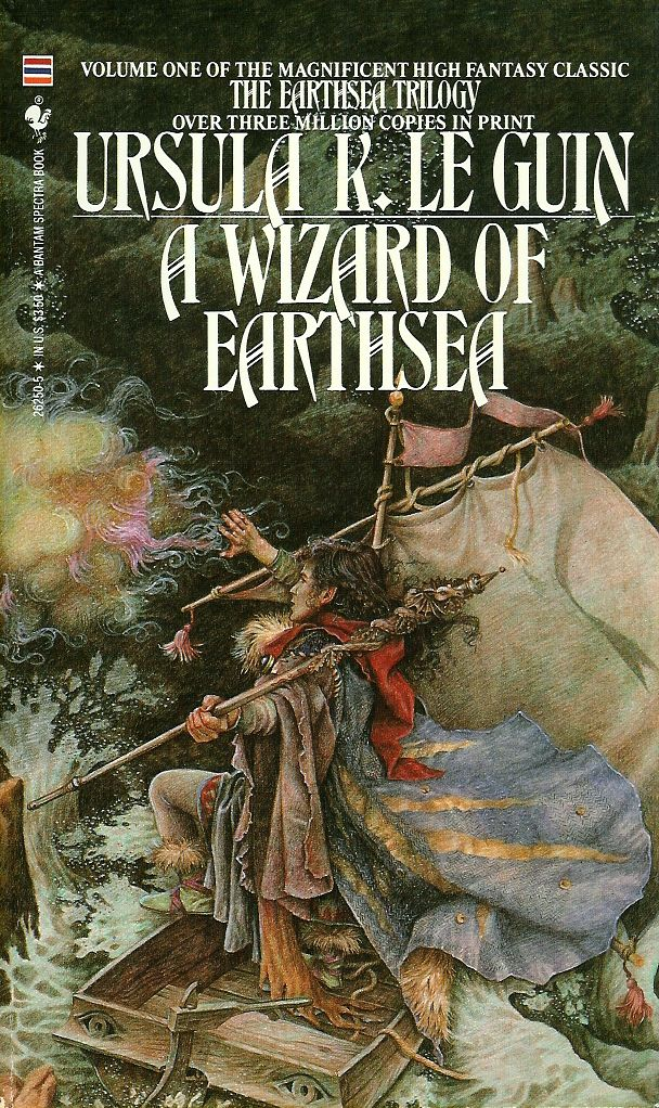 the wizard of earthsea The word of unbinding and the rule of names are earthsea short stories that can be found in le guin's collection, the wind's twelve quarters lat.