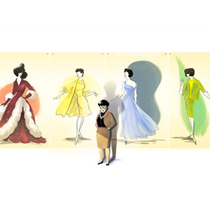 Hollywood Costume Designer's Birthday Honored by Google