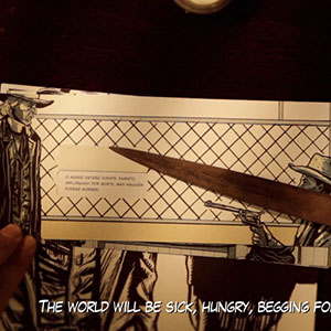Stop-Motion Comic Books by Edson Oda