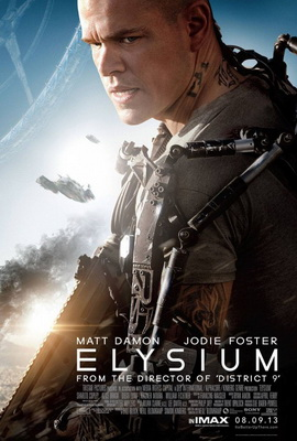 Watch a New <i>Elysium</i> Featurette With Matt Damon, Jodie Foster