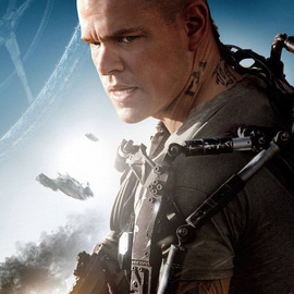 Matt Damon Takes on a Sarcasm-Detecting Robot in the First <i>Elysium</i> Clip