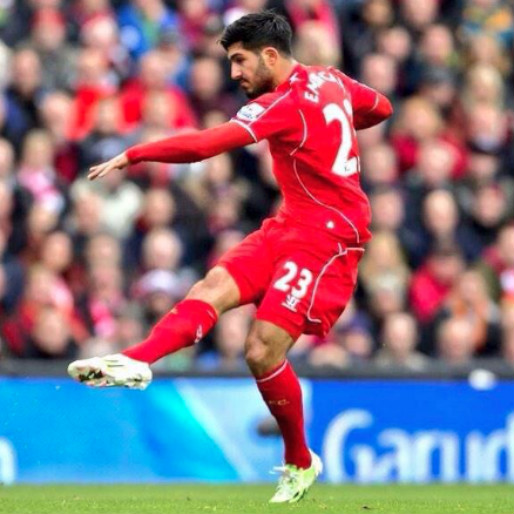 Emre Can's Pass Splits Five Chelsea Players