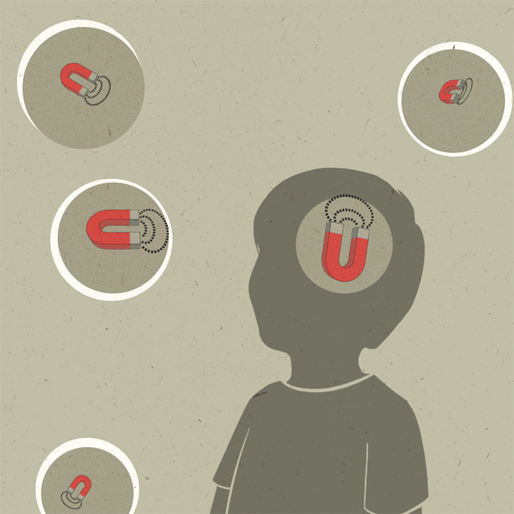 Graphic Designer Depicts Learning Disabilities