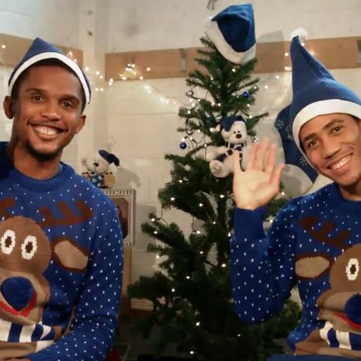 Samuel Eto'o and Steven Pienaar Star in Adorable Everton Advertisement
