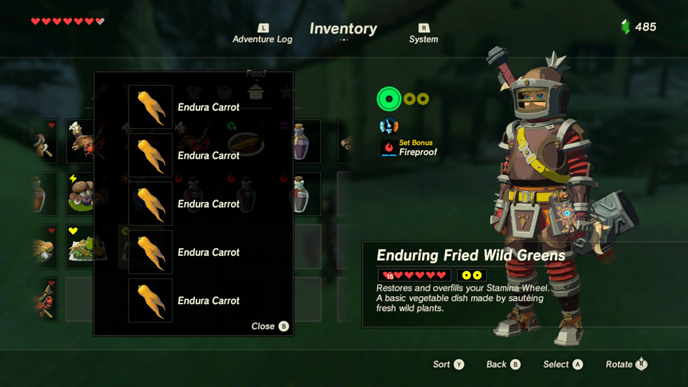 The 10 best recipes in zelda breath of the wild games lists extra stamina wheelsg forumfinder Images