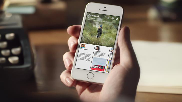 Facebook's Paper App Redesigns News Feed