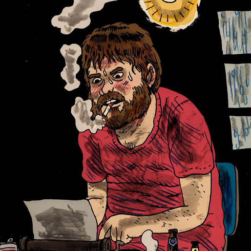 Noah Van Sciver Gets Laughs at Expense of Drunk Writers in <i>Fante Bukowski</i>