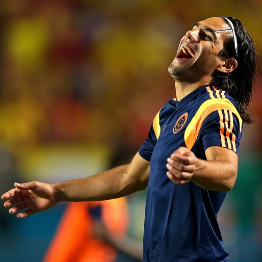 From Alabama to Colombia: Falcao! Smile and Wave!