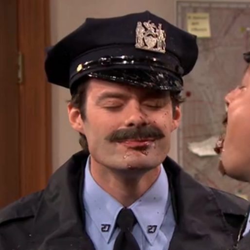 Watch: Bill Hader and Jimmy Fallon Spitting Food All Over Each Other