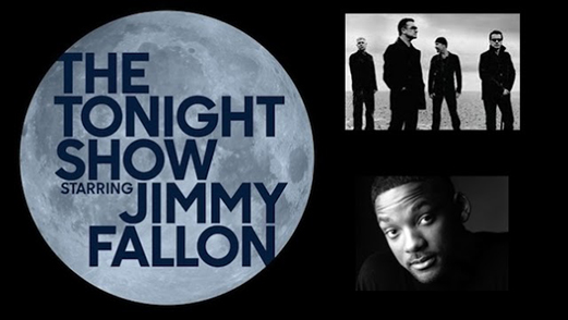 Watch U2 on Jimmy Fallon's <i>The Tonight Show</i>