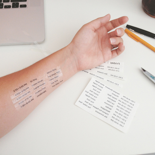 Never Miss Another Show with these Music Festival Temporary Tattoos
