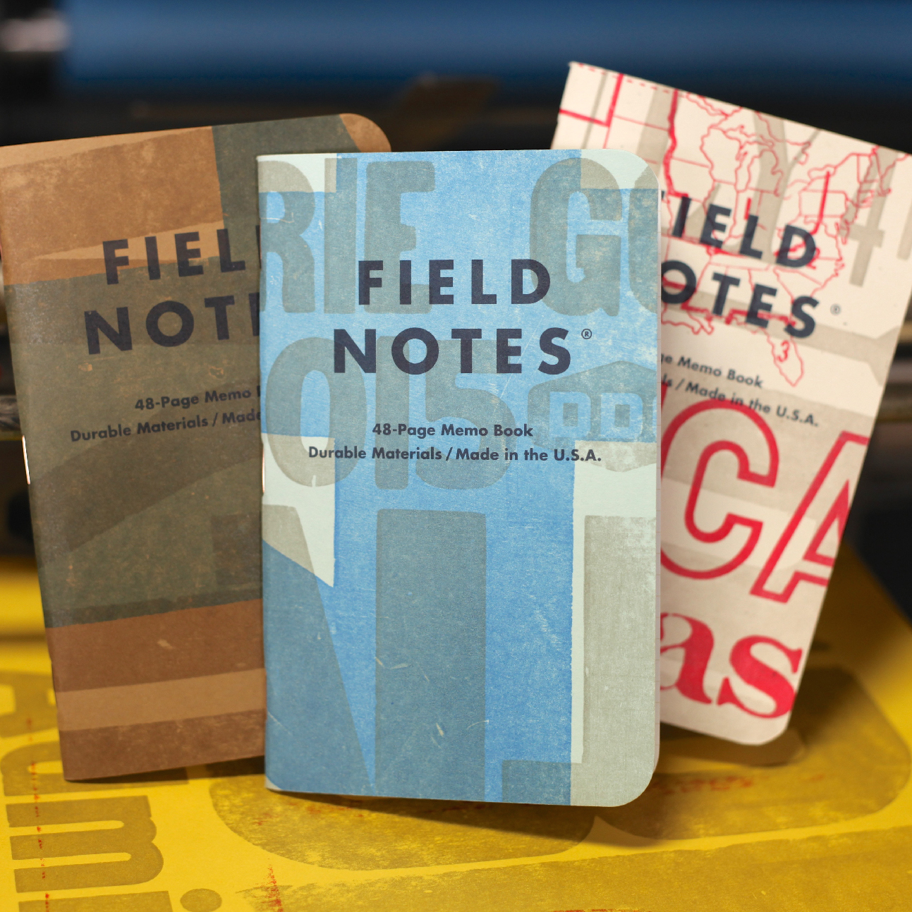 "Field Notes Releases Special ""Two Rivers"" Spring Notebooks"