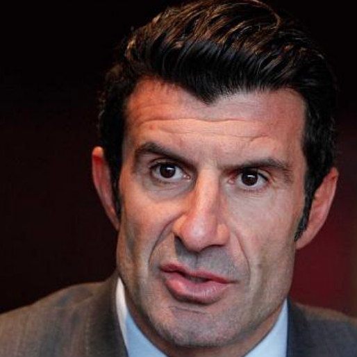 Luis Figo Ends His Campaign for the FIFA Presidency in Spectacular Fashion