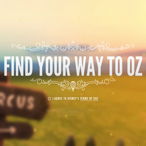Disney Works with Google to Create Oz-Themed Web Experience
