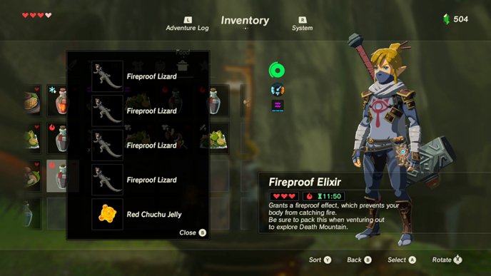 The 10 best recipes in zelda breath of the wild games lists fireproof 2g forumfinder Image collections