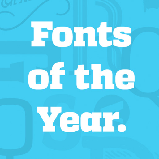 Best Fonts of the Year List from Betype