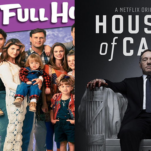 <i>House of Cards</i> Theme Mashed Up with <i>Full House</i> Opening Credits