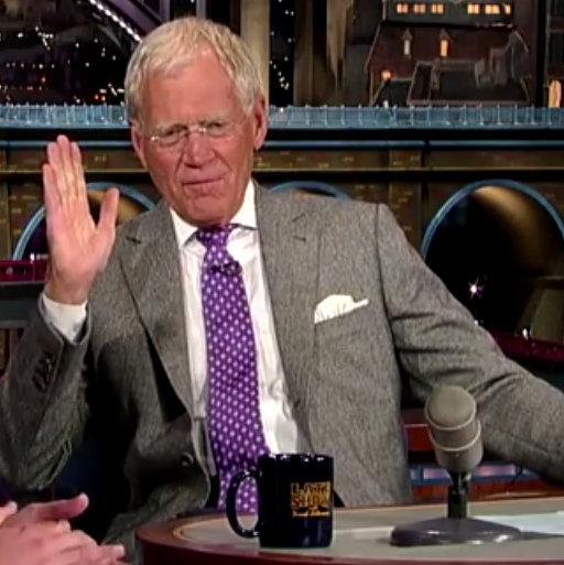 Jason Segel, David Letterman's Geek-Out About Food is Delightful