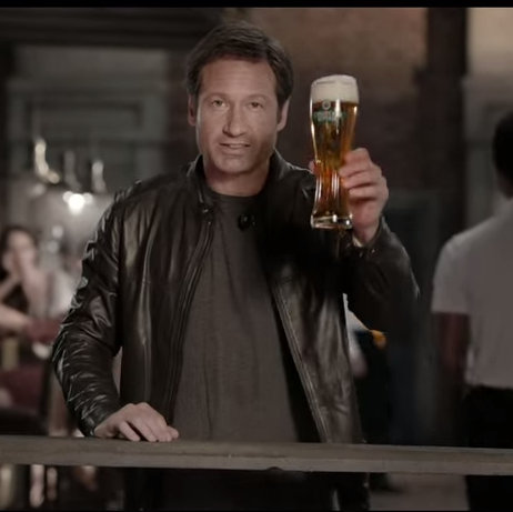 David Duchovny Imagines Growing up Russian in Beer Commerical