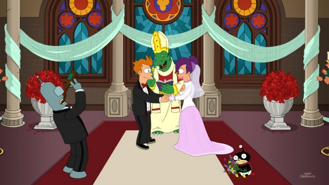 "<em>Futurama</em>: ""Meanwhile"" (Episode 7.26)"