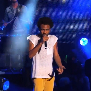 Watch Childish Gambino on Kimmel