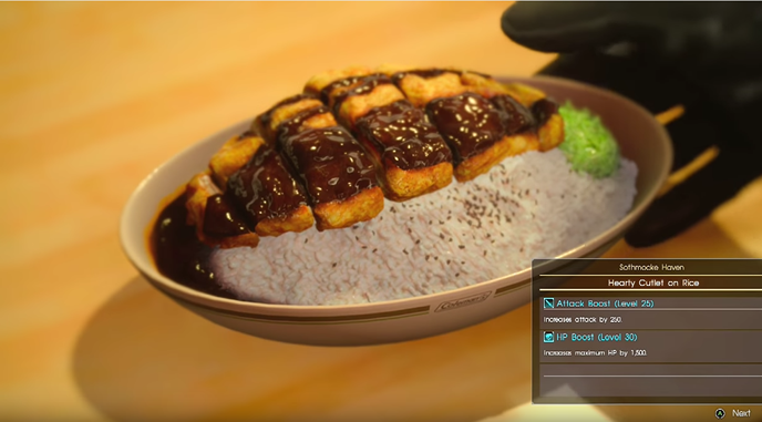 The food of final fantasy xv 2 recipes you can make right now hearty cutlet final fantasy 15g forumfinder Images