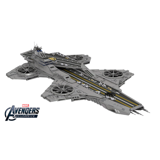What It's Like: Assembling the 3,000-piece LEGO S.H.I.E.L.D. Helicarrier