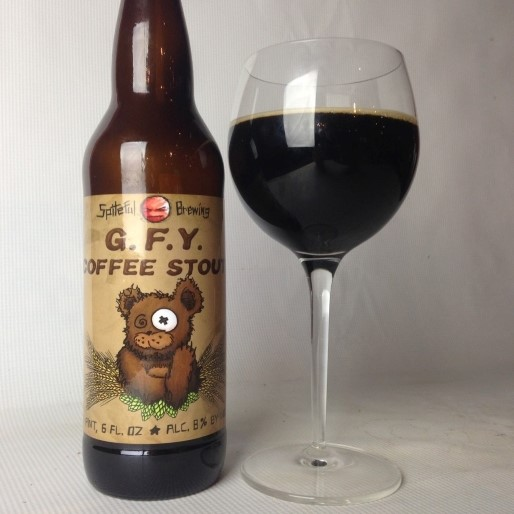 Spiteful Brewing G.F.Y. Coffee Stout Review