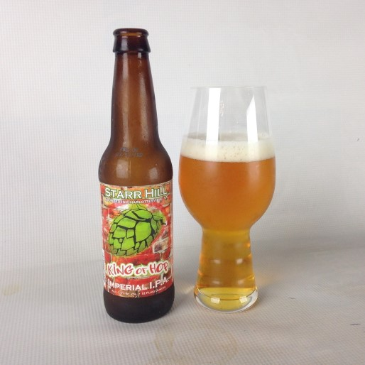 Starr Hill King of Hop Imperial IPA Review