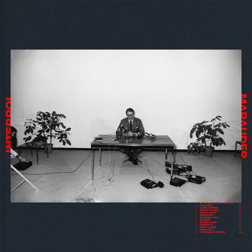 Interpol Announce Their New Album 'Marauder' With The Characteristically Kinetic 'The Rover'