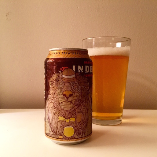 Indeed Brewing Dandy Lager Review