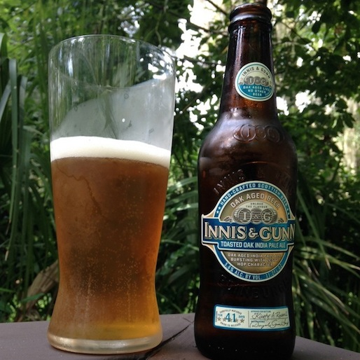 Innis & Gunn Toasted Oak IPA Review