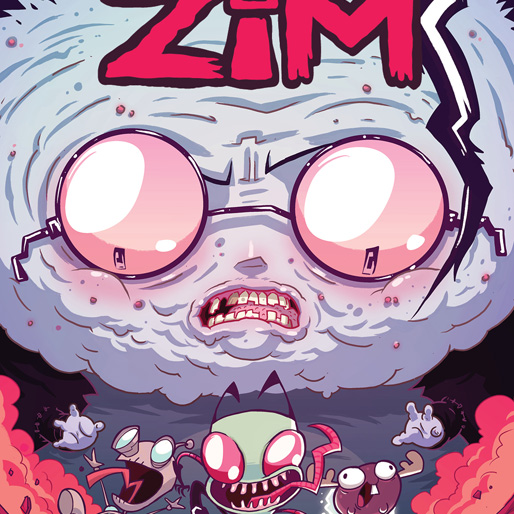 <i>Invader Zim</i> #1 by Jhonen Vasquez & Aaron Alexovich Review