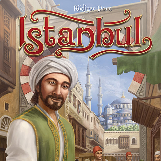 <i>Istanbul</i> Boardgame Review: Family Strategy