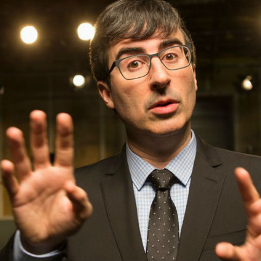Watch John Oliver Reluctantly Support the IRS, Followed by Michael Bolton Singing About It