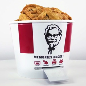 KFC Releases the Memories Bucket, So You Can Finally Capture All Those Greasy Moments